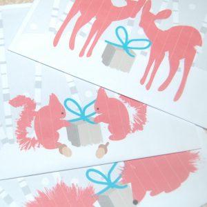 Hessilhead Wildlife Rescue Trust Christmas Cards