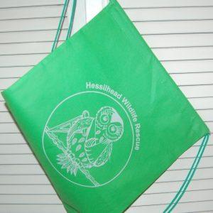 Hessilhead Wildlife Trust Rescue Centre green drawstring shoebags
