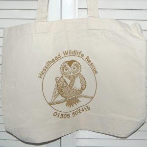 Hessilhead Wildlife Rescue Trust Cotton Tote Bags